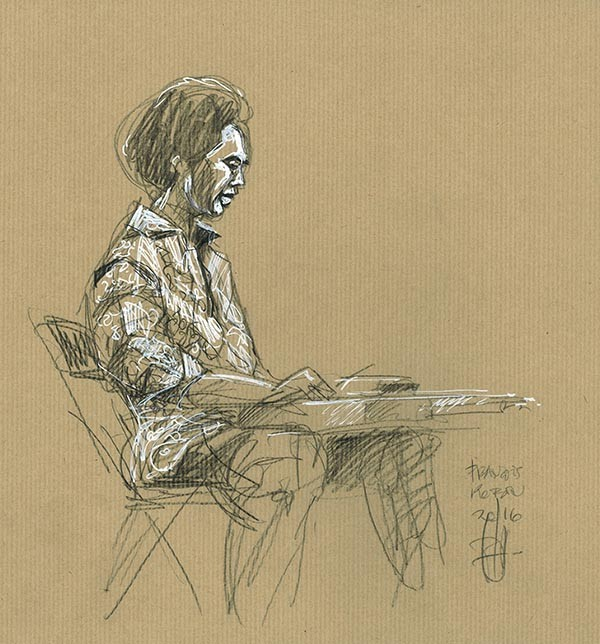 Selwyn Birchwood. Musique & silence.