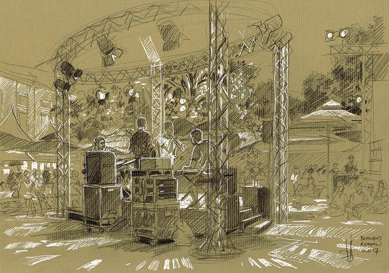 Le Hichem Khalfa Quartet. La générosité de l'ombre.
