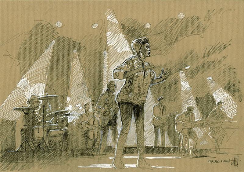 Imany. Concert du 30 juin 2018. Jazz à Vienne.