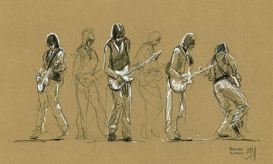 Jeff Beck. Concert du 2 juillet 2018. Jazz à Vienne