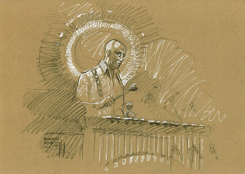 Mutadu Astatke. Concert du 6 juillet 2018.