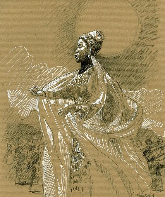 Ibrahim Maalouf & Angélique Kidjo. Noir est ma couleur.