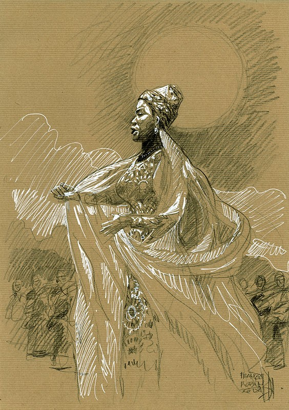 Angélique Kidjo. Queen of Saba