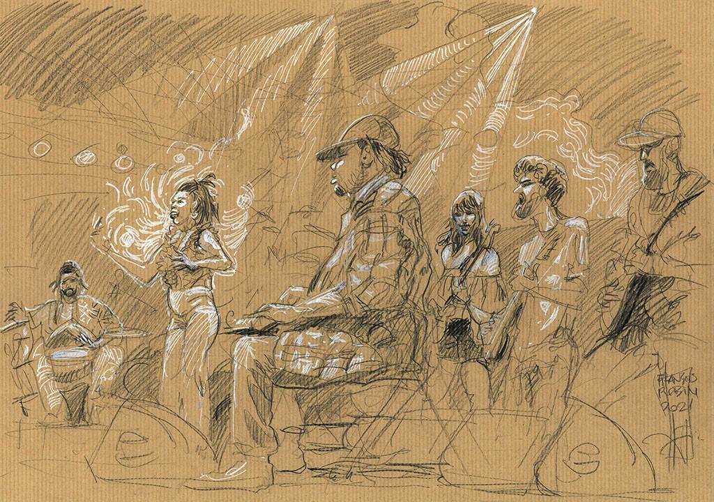 Marquise Knox. 10 juillet 2018. Jazz à Vienne. François Robin